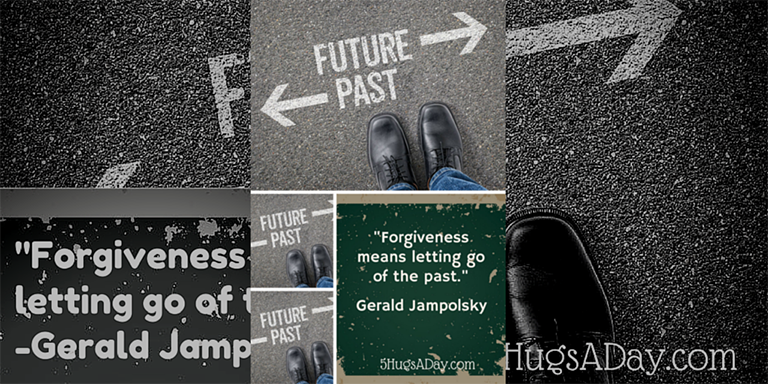 Learning to Move Past the Past via @5hugsaday | 5HugsADay.com