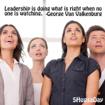 Leadership is doing what is right… thumbnail