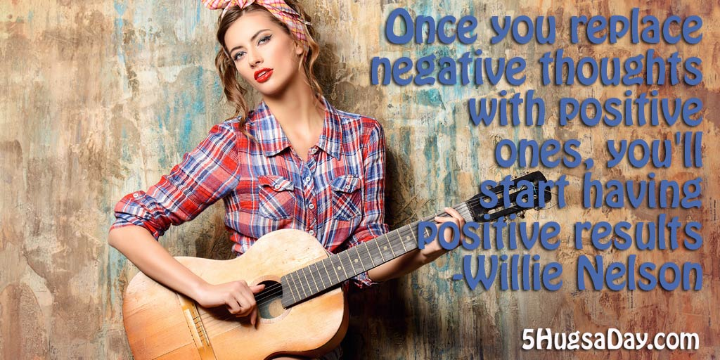 Replace the Negative with Positive and Those Will Be the Results! via @5hugsaday | 5HugsADay.com