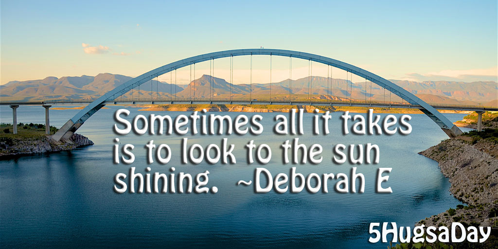 Take the Time to See the Sun Shining post image